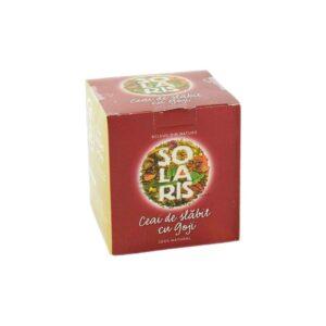 Ceai de slabit cu Goji Berry, 20 plicuri, Solaris
